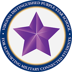 a photo of the distinguished purple star award